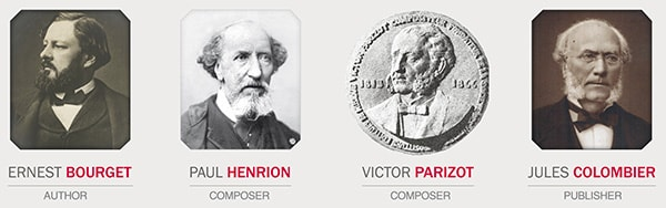 The 4 founders - Sacem